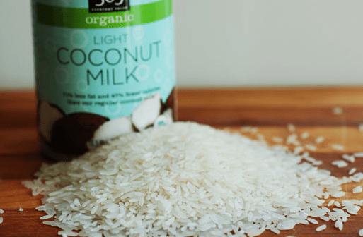 ココナッツオイルご飯の炊き方
