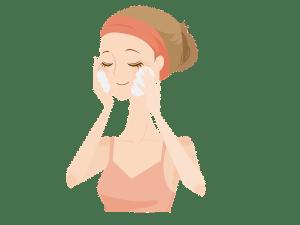 ココナッツオイル泡洗顔